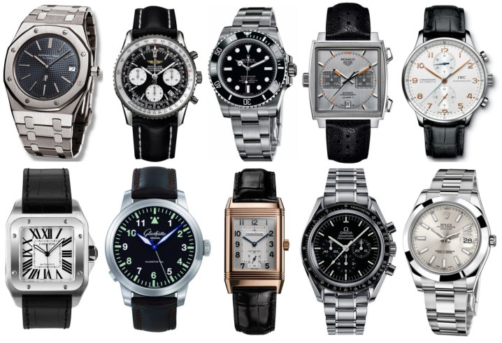 Collection of men's watch