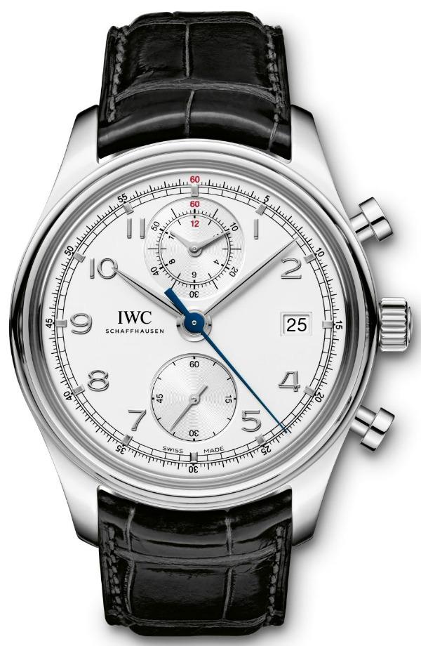 IWC Portuguese Chronograph Classic Watch ABlogtoWatch