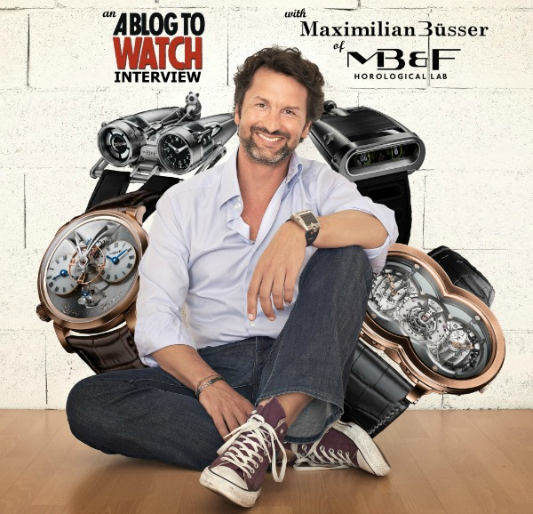 Creating The Horological Machine: An Interview With MB&F Founder Max Büsser Part 1 ABTW Interviews