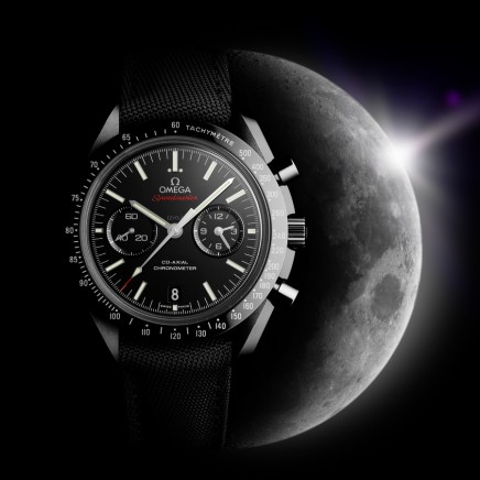 Baselworld 2013: Omega Speedmaster Dark Side of the Moon Watch Releases