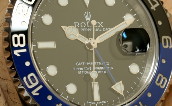 Rolex GMT Master II Day/Night 116710 BLNR Watch For 2013 Hands-On Hands-On