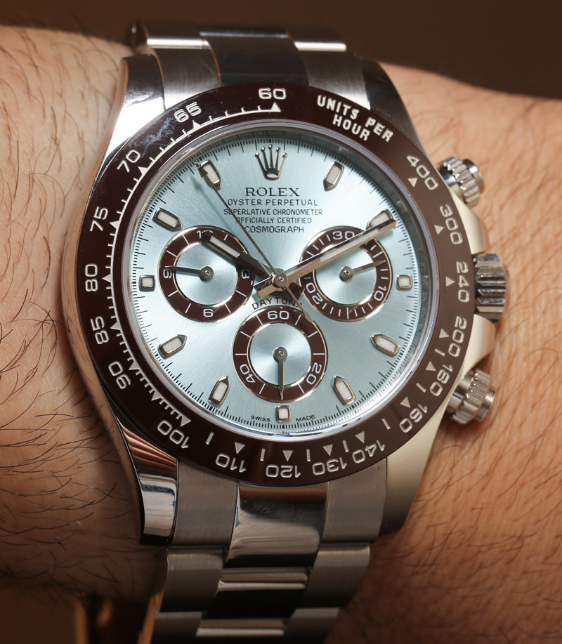 Rolex Cosmograph Daytona 116506 In Platinum Hands On An