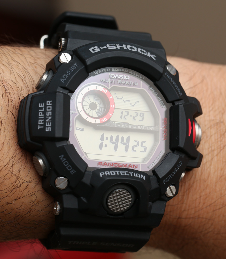 Casio Gw9400 Rangeman Watch Review Best G Shock Today Ablogtowatch Gw 9400dcj 1 Wrist Time Reviews