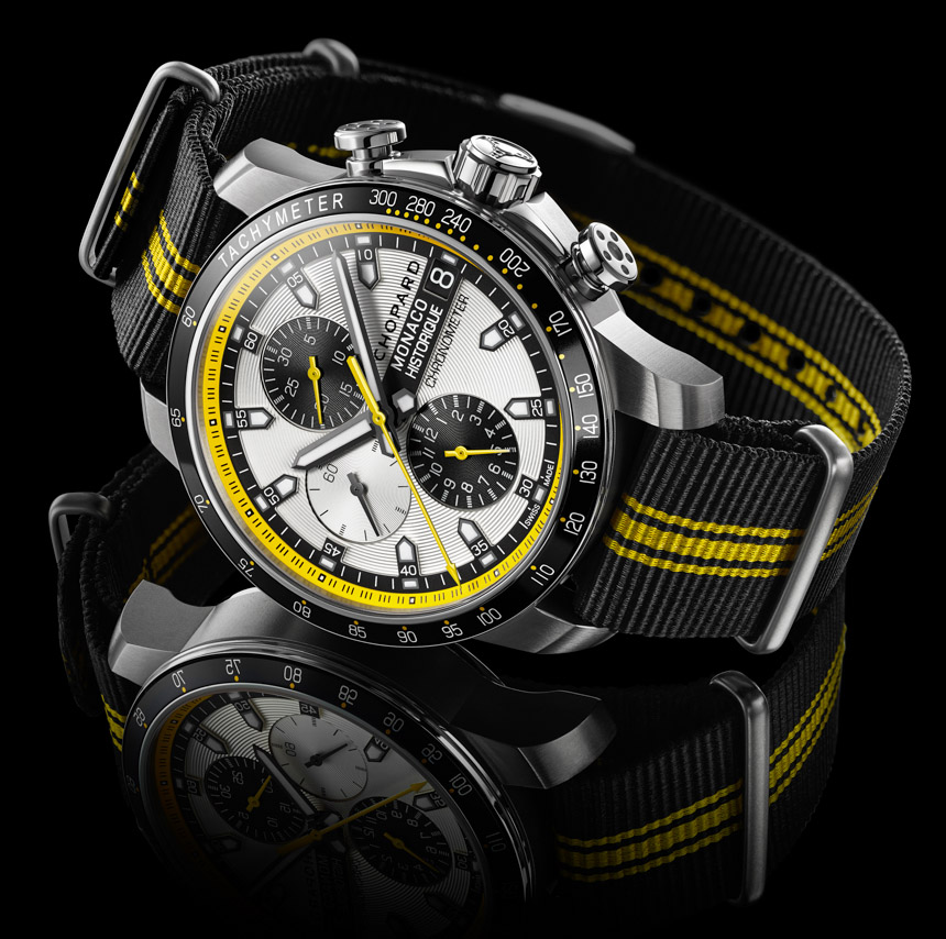 Chopard Grand Prix de Monaco Historique Chrono Watch In Yellow & Black For 2014   watch releases
