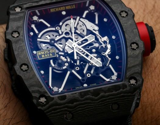 Richard Mille RM 35-01 Rafael Nadal NTPT Carbon Watch ...