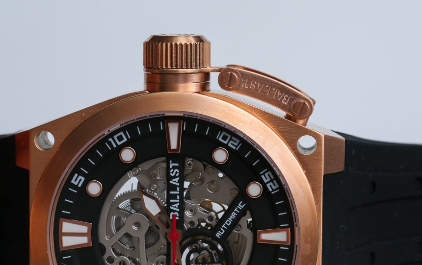 Ballast Valiant BL-3105 Skeleton Automatic Watch Review Wrist Time Reviews
