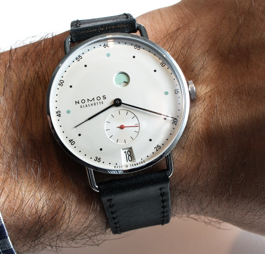 Nomos Metro Watch Hands On ABlogtoWatch