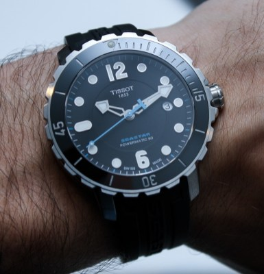 Tissot Seastar 1000 Powermatic 80 Watch Hands-On: Upgrades Increase The Want Hands-On