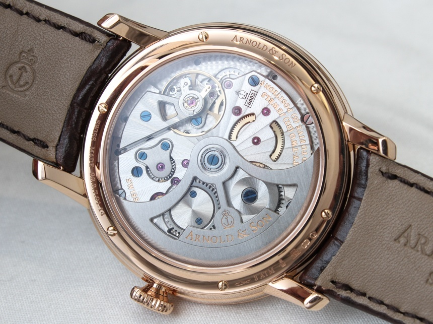 Arnold & Son DSTB Watch Hands-On Hands-On