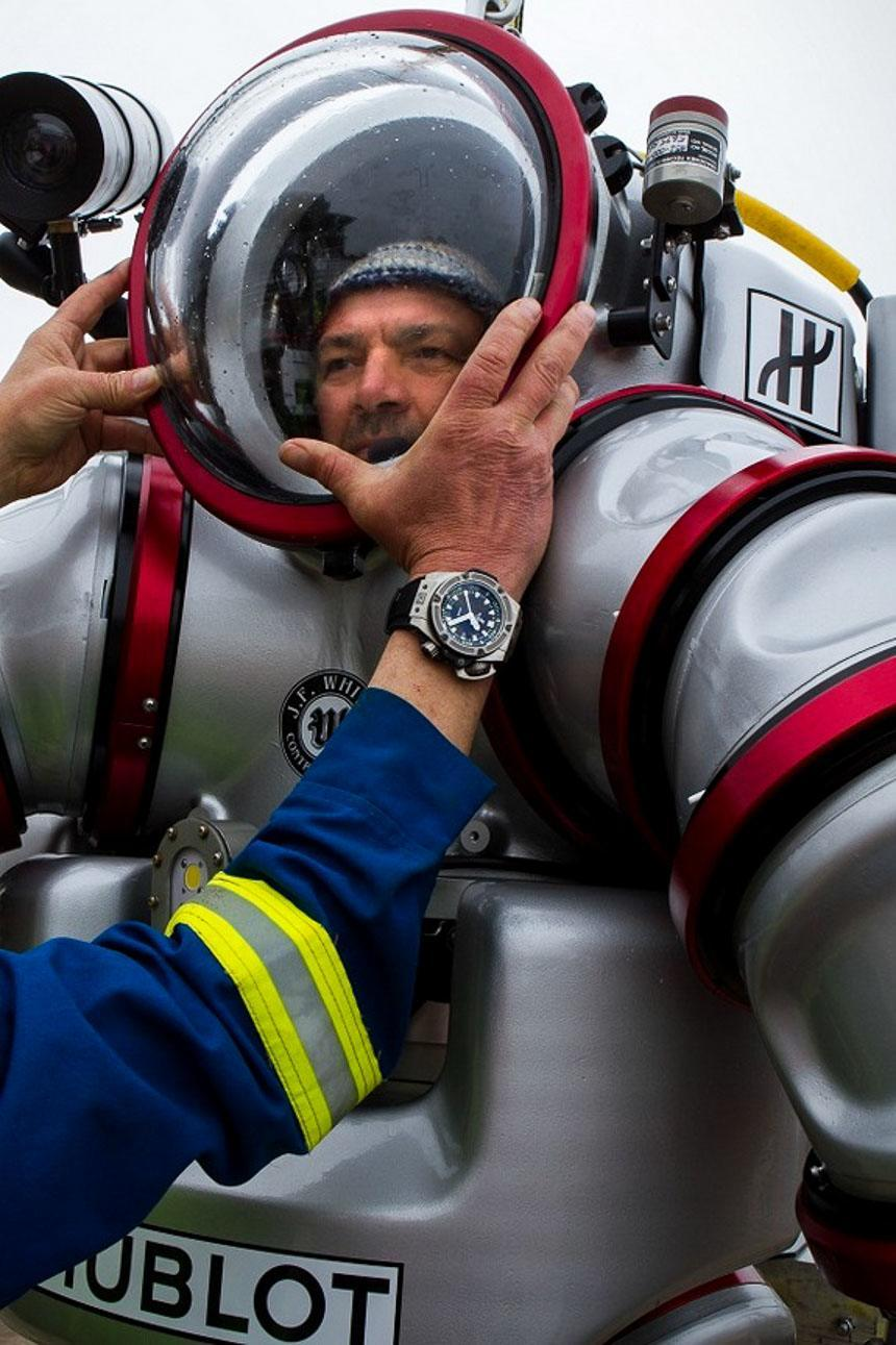 Hublot Sponsors The Exosuit Diving Suit Wearable Submarine Watch Industry News