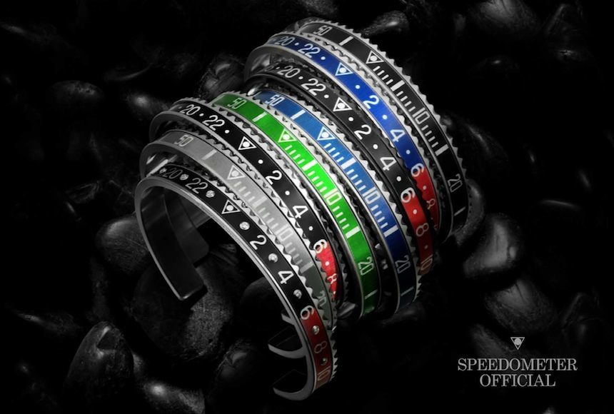 Speedometer Official Unidirectional Bezel Bracelet