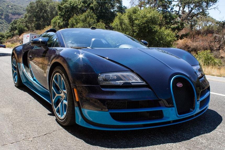 Supercar bugatti veyron