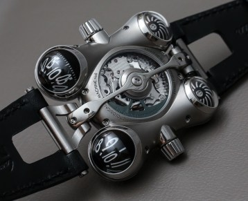 MB&F HM6 Space Pirate Watch Hands-On Debut Hands-On
