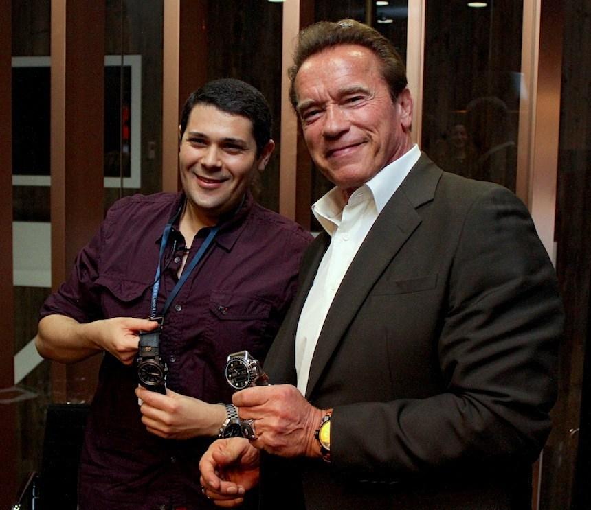 Arnold Schwarzenegger Watch Brand Debuts For 2015