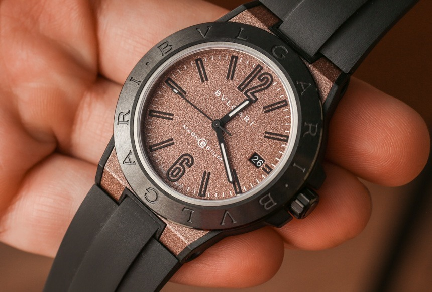 Bulgari Diagono Magnesium Concept Watch Hands-On Hands-On