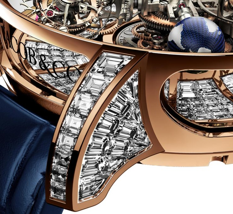Jacob & Co. Astronomia Tourbillon Baguette Watch For $1,015,000 Mens Watches Watch Releases
