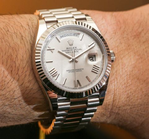 Rolex Day-Date 40 Watches & The New Rolex 3255 Movement Hands-On Hands-On