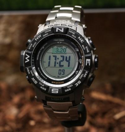 Casio Pro Trek PRW-3500 Watches For 2015 Hands-On Hands-On