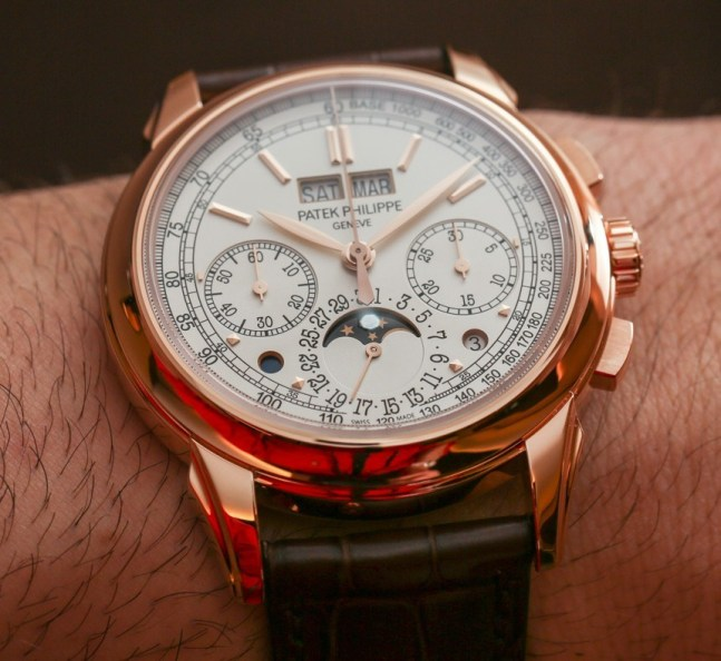 Patek Philippe 5270R-001 Perpetual Calendar Chronograph Watch Hands-On Hands-On