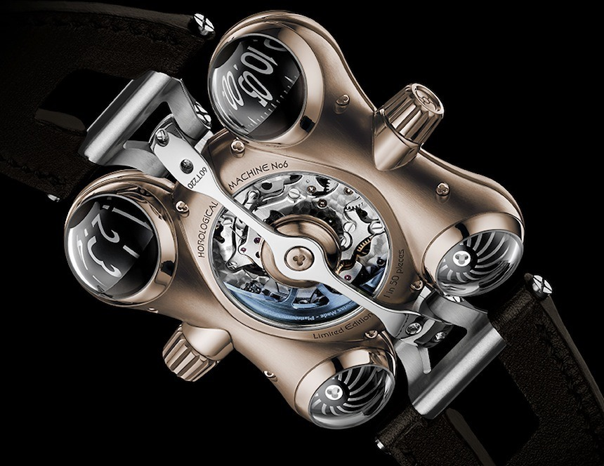MB&F HM6 RT Watch In Red Gold Watch Releases