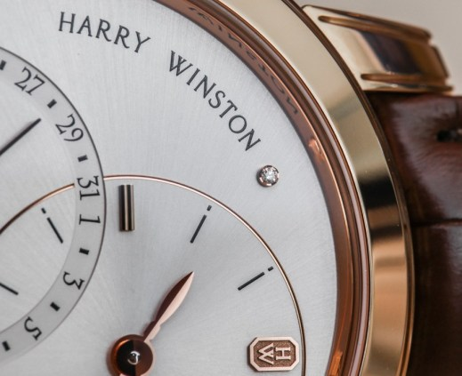 Harry Winston Midnight Date Moon Phase Automatic Watch Hands-On Hands-On