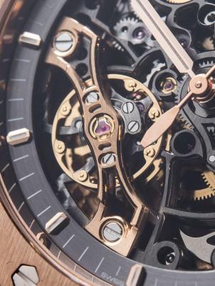Audemars Piguet Royal Oak Double Balance Wheel Openworked Watches Hands-On Hands-On