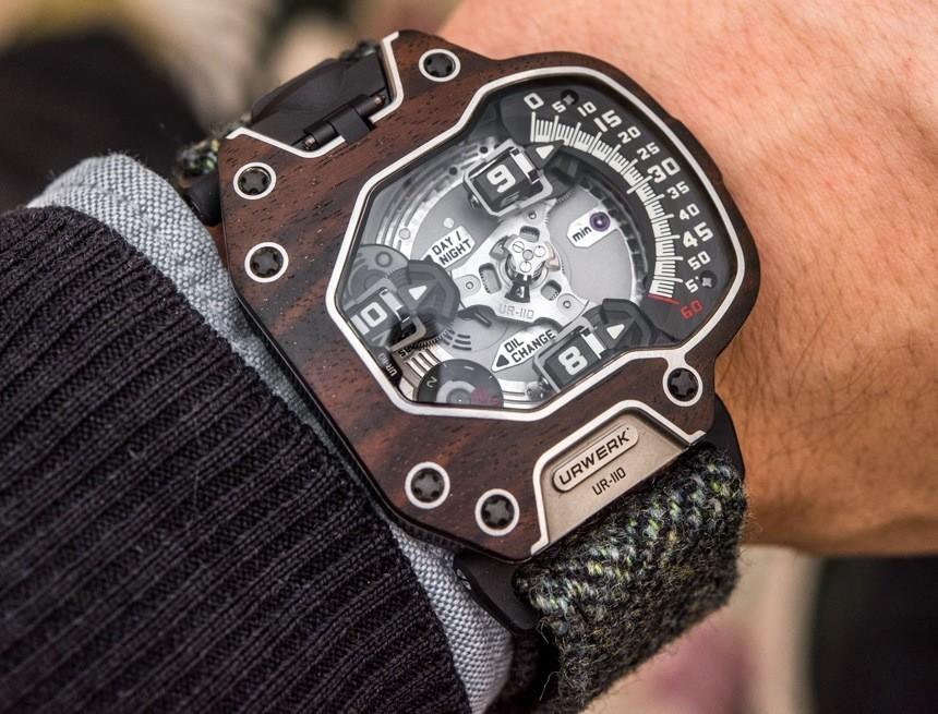 Urwerk UR-110 Eastwood Watch With Ebony Wood Bezel Hands-On