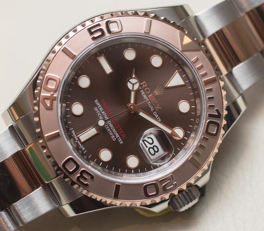 Rolex Yacht Master 40 Watch Hands On ABlogtoWatch