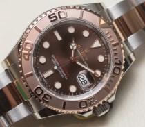 Rolex Yacht-Master 40 Watch Hands-On Hands-On