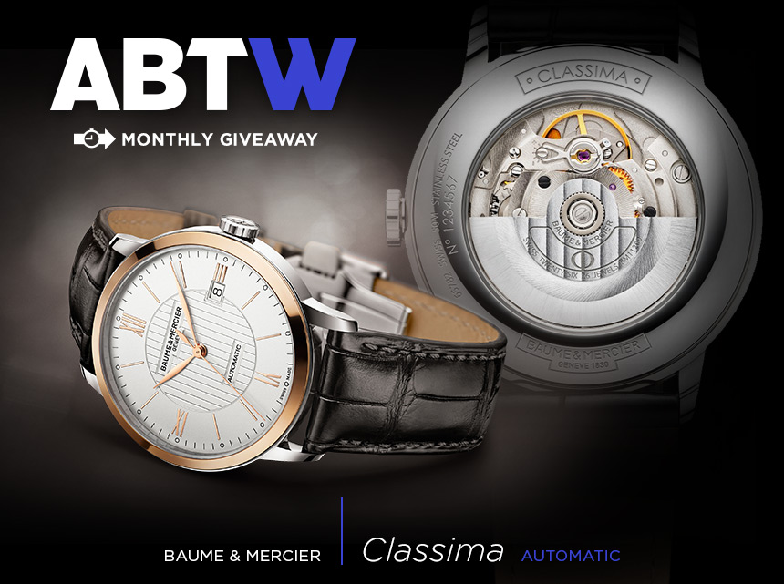 d4e57f08ce81 WATCH GIVEAWAY  Baume   Mercier Classima Automatic   aBlogtoWatch