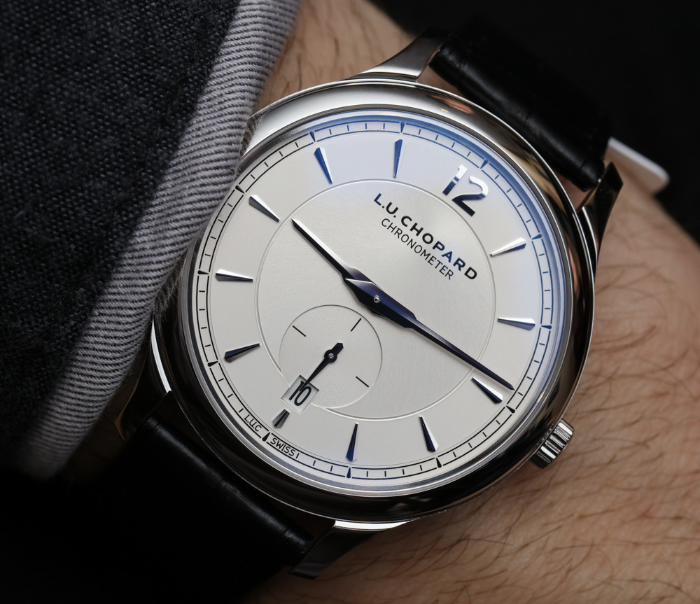 Chopard LUC XPS 1860 Watches In Steel Or Gold Hands On