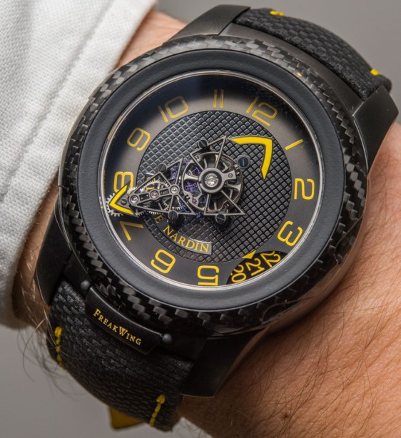 Ulysse Nardin FreakWing Artemis Racing Limited Edition Watch Hands-On Hands-On