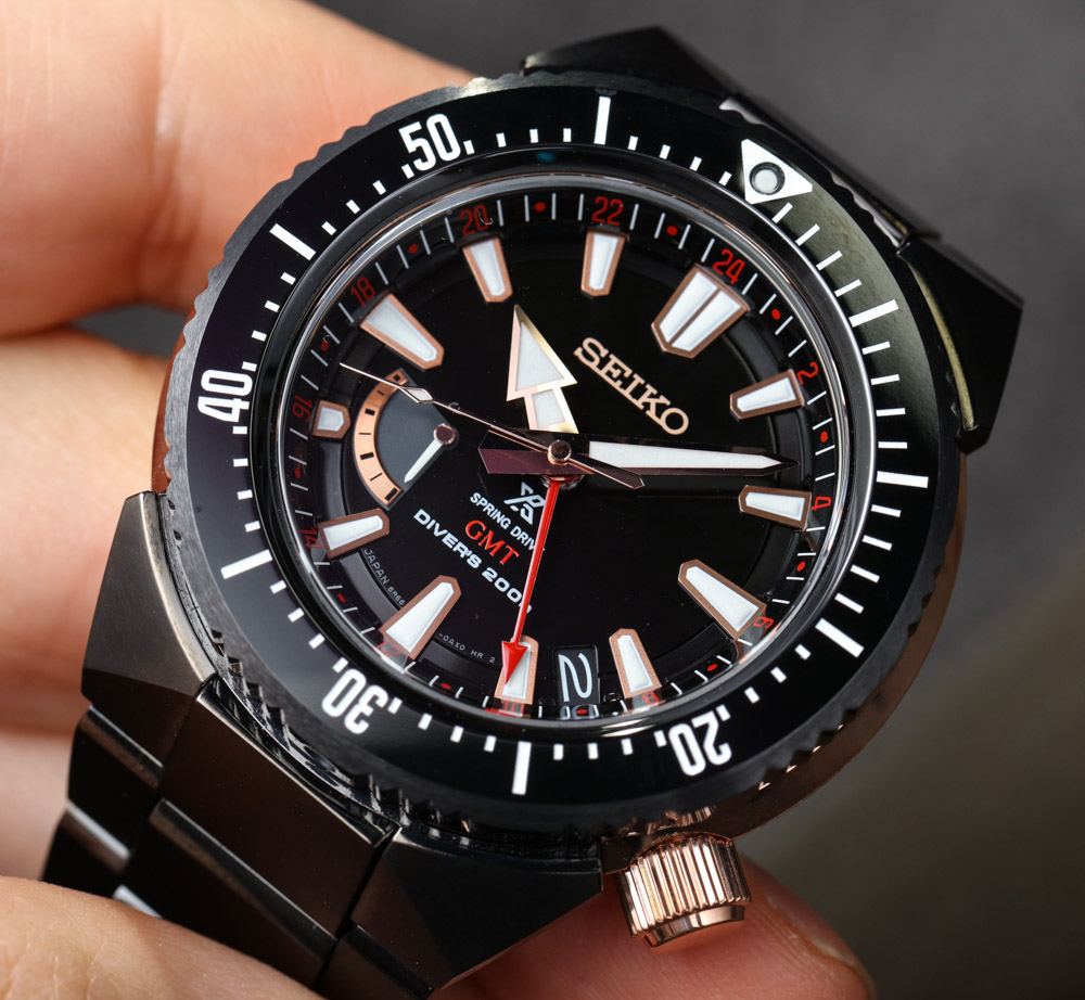 Seiko Prospex 200M Spring Drive GMT Watch Hands-On Hands-On
