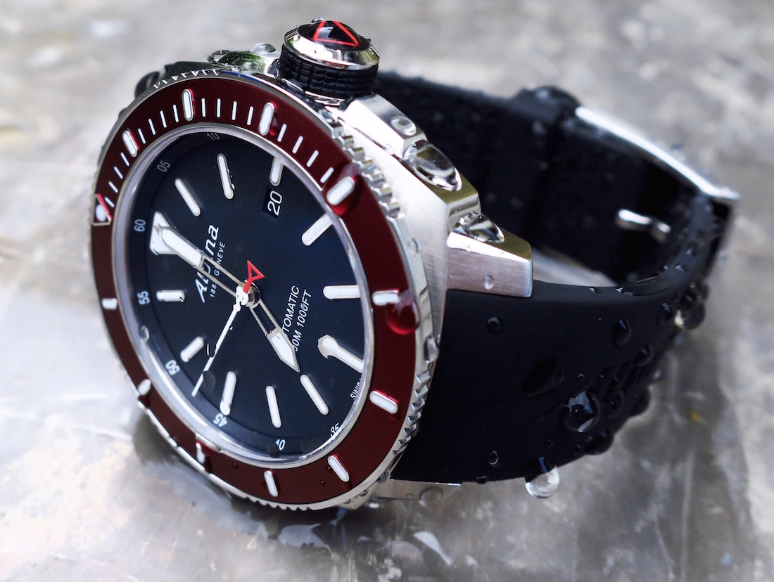 Alpina Seastrong Diver Automatic Watch Review ABlogtoWatch - Alpina diver watch