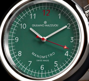 Giuliano Mazzuoli Manometro Watch With New Dial Colors Watch Releases
