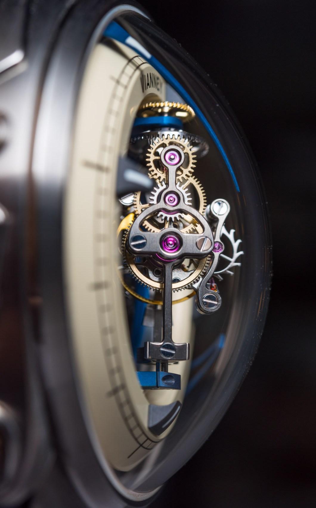 Vianney Halter Deep Space Tourbillon Watch Hands-On Hands-On