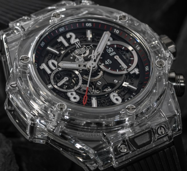Hublot Big Bang UNICO Magic Sapphire Watch   aBlogtoWatch Hublot Big Bang UNICO Magic Sapphire Watch Watch Releases
