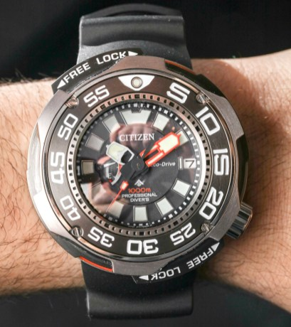 Citizen Eco-Drive Promaster Professional Diver 1000m Watch Hands-On Hands-On