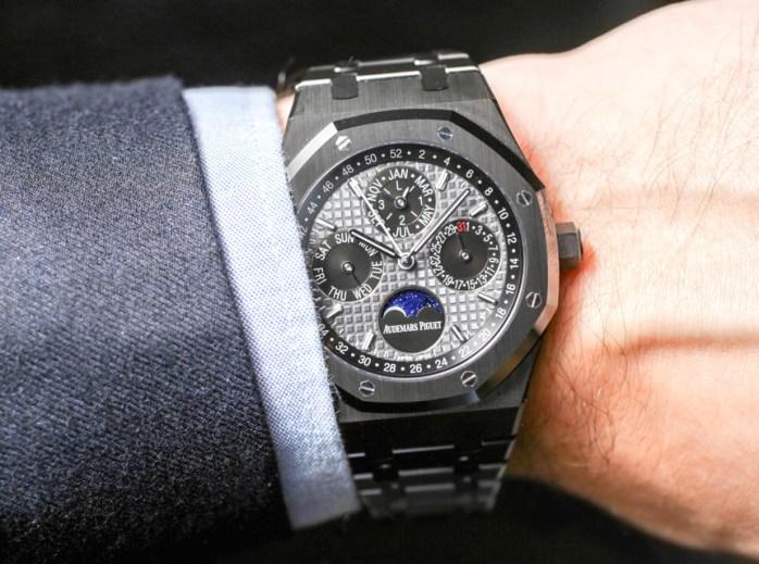 f7633a7ac38 Audemars Piguet Royal Oak Perpetual Calendar Watch In Ceramic Hands-On  Hands-On