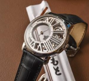 Cartier Rotonde De Cartier Mysterious Hour Skeleton Watch Hands-On Hands-On