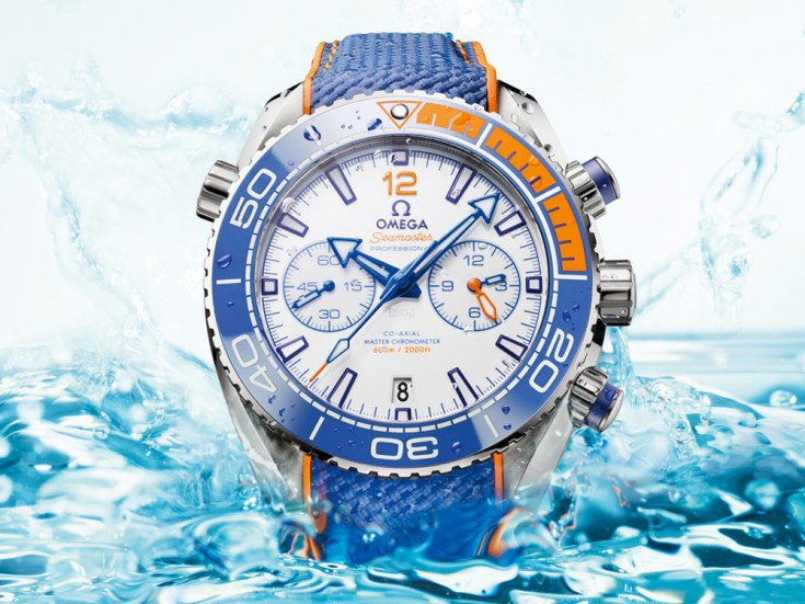 Omega Seamaster Planet Ocean 'Michael Phelps' Limited Edition Watch Seamaster Watch Releases