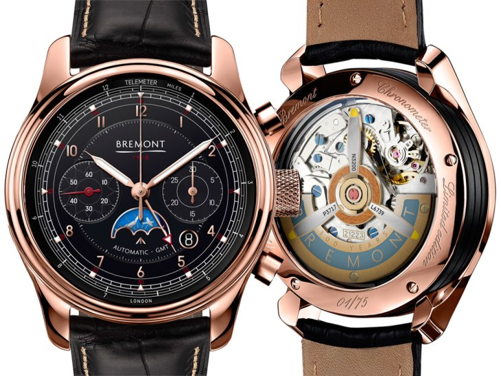 Bremont 1918 Limited Edition Chronograph GMT Watch Watch Releases