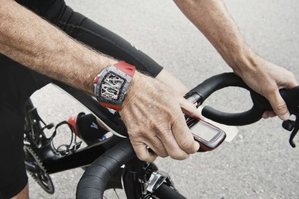 Richard Mille RM 70-01 Tourbillon Alain Prost 'Cycling' Watch Watch Releases