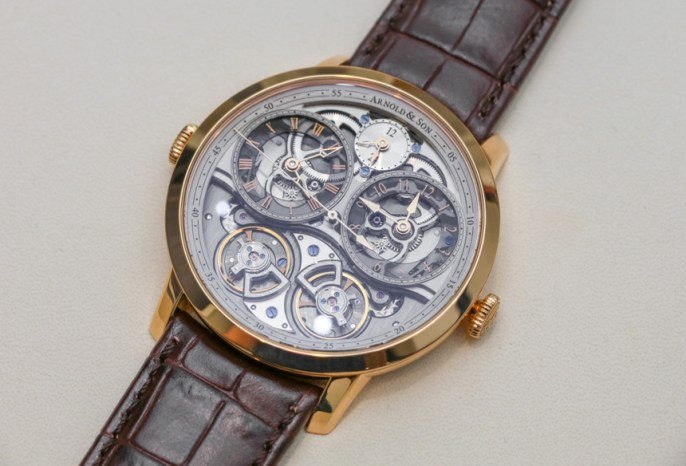 Arnold & Son DBG Skeleton Watch Hands-On Hands-On