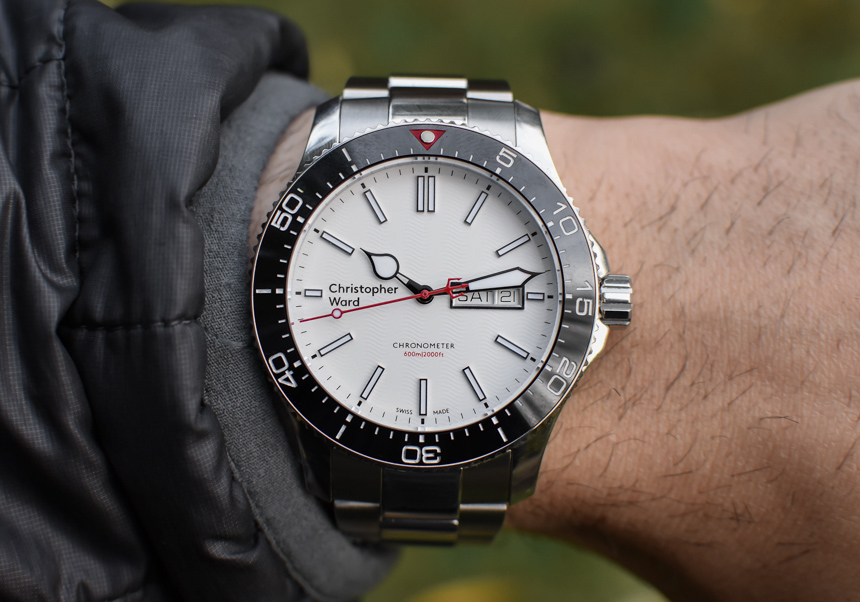 christopher ward c60 trident day date cosc watch review ablogtowatch
