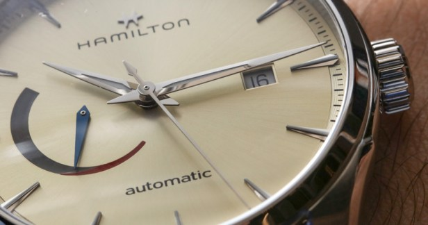 Hamilton Jazzmaster Power Reserve Watch Hands-On Hands-On