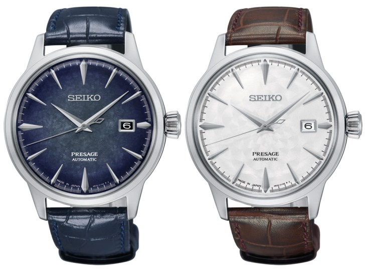 Seiko Presage Sakura Hubuki & Starlight 'Cocktail Time' Watches Watch Releases