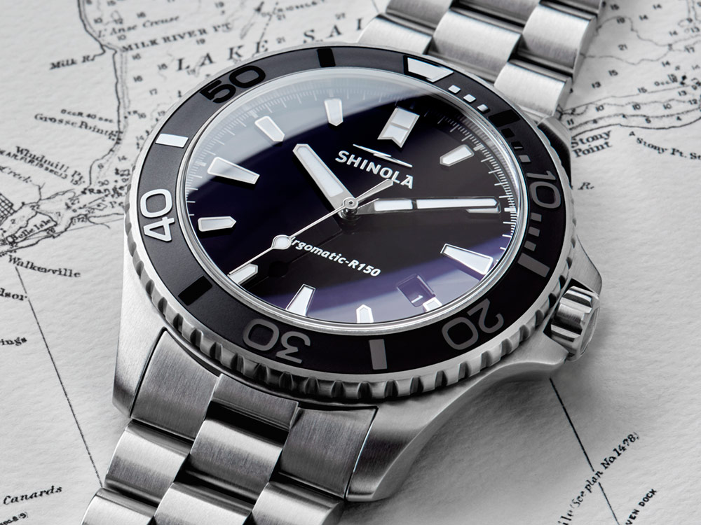 Shinola Lake Erie Monster - Brand's First Mechanical Watch - Debuts Via Auction On StockX Watch Releases