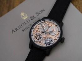 Arnold & Son Tourbillon Chronometer No. 36 Gunmetal Watch Watch Releases