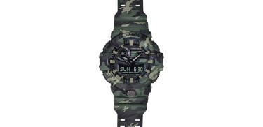 Casio G-Shock GA700CM-2A, GA700CM-3A & GA700CM-8A 'Camouflage Collection' Watches Watch Releases
